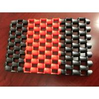 Wholesale Double Color Anti - Slip PVC Chain Mat In Rolls , Machine Made Pvc Floor Mat from china suppliers