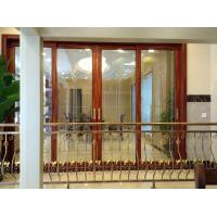 Wholesale Balcony Interior Aluminium Entrance Doors Color Reflectived Glazed Wind Pressure from china suppliers