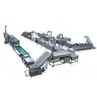 Wholesale Automatic Snack Food Processing Equipment French Fries / Potato Chips Production Line from china suppliers