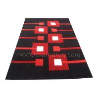 China Acrylic Hand-tufted Area Rugs, Red, Black, Brown, Beige Patterned Modern Area Rug on sale