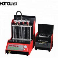 China OEM Iron Fuel Injector Tester And Cleaner Nozzle Test Equipment For Car on sale