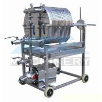 Wholesale Stainless Steel Plate and Frame Filter Press Brewing Mash Filter Beer Filter from china suppliers