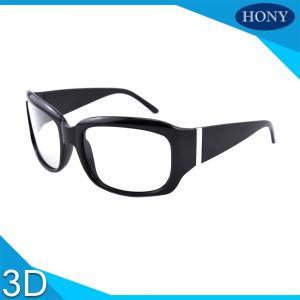 China Passive 3D Glasses Cinema Reusable Use Fashion Frame Design Kino Polarized Glasses on sale
