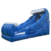 Wholesale Customize Large Surf Outdoor Double Inflatable Water Slide For Garden from china suppliers