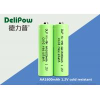 Buy cheap Green Color Low Temperature Rechargeable Batteries AA1600mah Capacity from wholesalers