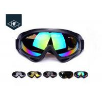 Wholesale ABS Plastic Frame Motorcycle Helmet Accessories , PC Lens X400 Atv Helmet Goggles from china suppliers