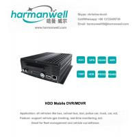 Wholesale 4ch HD 720P AHD Harddisk MDVR GPS+3G+WIFI  WIFI automatically searching from china suppliers