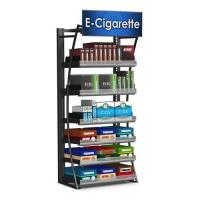 Contemporary Free Standing Cigarette Display Cabinet Store Display Fixtures For Retail