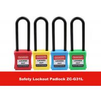 Wholesale Safety LOTO Devices 76mm Long Nylon Shackle Xeony Lockout Padlock from china suppliers