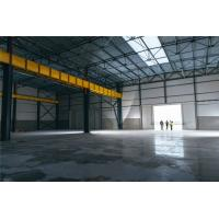 China Modern Industrial Steel Frame Structure Workshop Buildings With Overhead Crane on sale