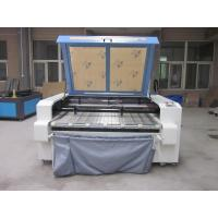Wholesale Laser Fabric Cutter CO2 Laser Cutting Engraving Machine , Laser Power 100W from china suppliers