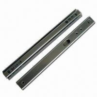 Wholesale Mini Ball Bearing Drawer Slide with 27mm Groove from china suppliers