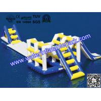 Family  Inflatable Water Games , Lake Inflatable Ladder  / Runway Manufactures