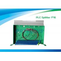 Wholesale High Reliability Fiber Optic Splitter 1 In 16 Out / 1260nm 1650nm PLC Splitter 19'' from china suppliers