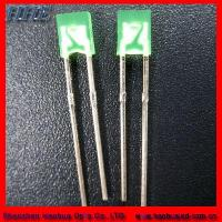 Quality High Intensity 10mm Square Blue LED Diode (RoHS) for sale