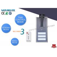 Quality Intelligent Integrated 60W Solar Led Street Lights 6000lm for Highway Light for sale