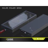 Wholesale camping Solar power bank , waterproof solar charger for business gift from china suppliers