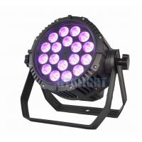 China 18*12W RGBWA Theatre Spot Lights , IP65 Small Led Par Cans Lighting on sale