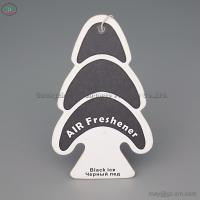 beautiful and colourful style paper car air freshener with a white string in flowe fragrance for sale