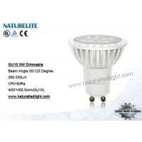 Wholesale 5W  Led Spotlight Bulbs Dimmable , GU10 LED Spot Light Bulb from china suppliers