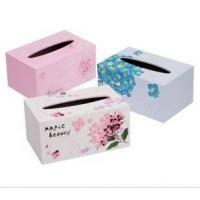 Wholesale Decorated paper tissue box from china suppliers