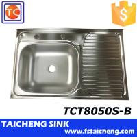 Used Kitchen Sink: 800x500x150mm Inox 201 Used Kitchen Sinks For Sale