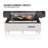 China Customized Print Width Textile Inkjet Printer Digital Textile Flatbed Printers For Fabrics , Clothing on sale