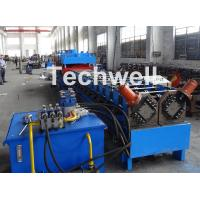 Quality 2 In 1 Metal Stud Roll Forming Machine , Sheet Metal Roll Forming Machines for sale