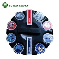 Wholesale Round Corner 200 Pcs Beautiful Poker Chips Plastic / Clay / Ceramic Poker Chips Set from china suppliers