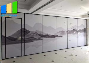 Wholesale Acoustic Divider Movable Soundproof Folding Partition Walls Panel For Restaurant from china suppliers