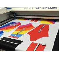 Buy cheap Custom Cnc Cloth Cutting Machine , Laser Cutting Machine For Textile & Garment from wholesalers
