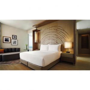 China Durable 3 Star Hotel Hotel Bedroom Furniture Sets / Full Size Bedroom Sets on sale