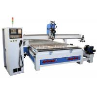 Wholesale Auto Tool Changing4 Axis CNC Router Machine High Stable For Furniture Cabinets from china suppliers