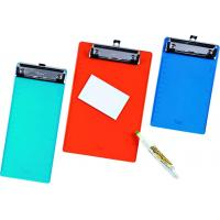Buy cheap Custom Size Rainproof PVC Clip Board 2mm With Wire Clip For ...