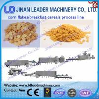 Wholesale Corn flakes breakfast cereals snacks food machine from china suppliers