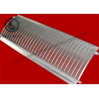Wholesale 30 Slot Parabolic Screen Filter For Filtration Industry Long Service Life from china suppliers