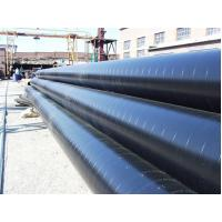 China Q195 Q215 Q235 Q345 Epoxy Coal Tar Pitch Coating Anti - Corrosion Steel Pipe For Long Distance Conveying Oil on sale