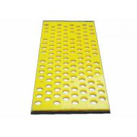 China No Pegging Or Blinding Polyurethane Mining Screen Mesh Specially For Dewatering on sale
