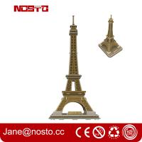 Wholesale 3D Eiffel Tower Jigsaw Puzzles For Kids Handmade Creative Assemble from china suppliers