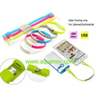 Wholesale New design Date charging line wristband for android mobile phone from china suppliers