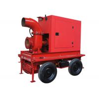 Wholesale Irrigation Mobile Diesel Water Pump With 1400 m3/H Flow , 10m Lift Head from china suppliers