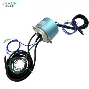 China 2 Channels Rotary Slip Ring Fiber Optical Joint For Encoder Servo Motor Signal Line on sale
