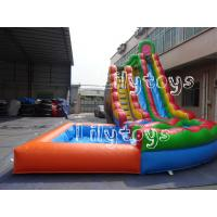 Wholesale Giant Fun Rentals Large Inflatable Water Slide For Outdoor Water Park from china suppliers