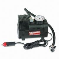 Buy cheap 12V Mini Auto Air Compressor with Pressure of 250psi and Output of 30L/Minute from wholesalers