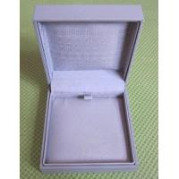 Wholesale Leatherette paper covered jewelry boxes, Plastic mould box, felt lining, logo printed from china suppliers