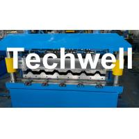 Wholesale Metal Roof IBR Sheeting Roll Forming Machine For 0.3 - 0.8mm Material Thickness from china suppliers