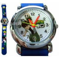 China Blue Ben 10 Ten BEN10 Kids Children Quartz Wrist Watch on sale
