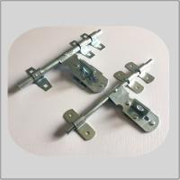Wholesale Nickel Plated Lockable Door Bolt , External Door Latch  White Zinc Surface Polish from china suppliers