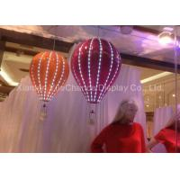 Wholesale Women Dress Store Fiberglass Balloons Custom Size Decorative Hanging With LED from china suppliers
