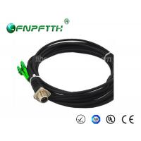 SM 7.0mm (inside 2.0mm) Fiber Optic ODC-LC/APC patch cord with 2 core fiber patch cord Manufactures